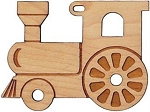 Maple Cutout Train Engine Christmas Tree Ornament Maple Landmark 60055